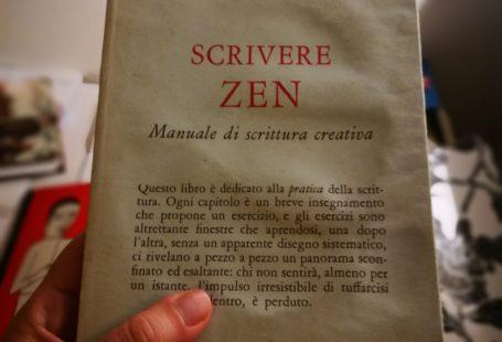 Scrivere zen, manuale di scrittura creativa, di natalie goldberg, edito da ubaldini