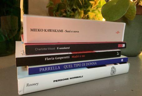 libri, seni e uova, mandri e no, persone normali, quel tipo di donna.